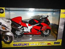 Automaxx Suzuki GSX1300R Hayabusa Red 1/12