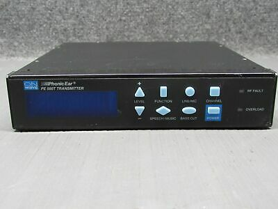 Hardwerkend Onwave Phonic Ear Pe 560t Assisted Living Digital Synthesis Transmitter