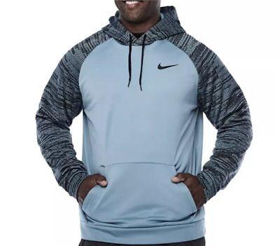 NWT Men/'s Nike Big /& AND Tall Zip Up Therma KO Training Hoodie  Green 372