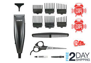 men professional hair clippers cutting barber salon kit
