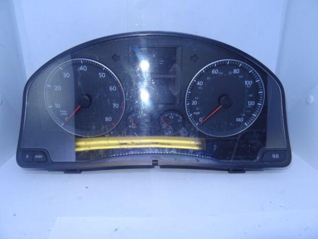 *VW GOLF MK5 1.4 2004-2009 INSTRUMENT CLUSTER CLOCK 1K0920951E - BCA