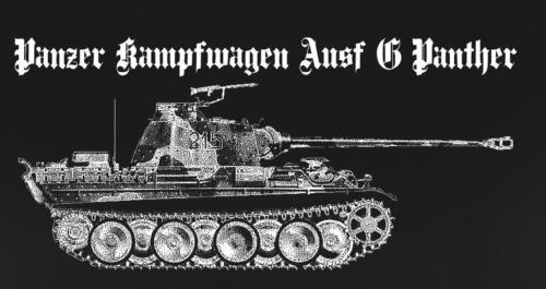 TIGER TANK PANZER VI T Shirt WWII WW2 German Werhmacht Waffen ASL Fury