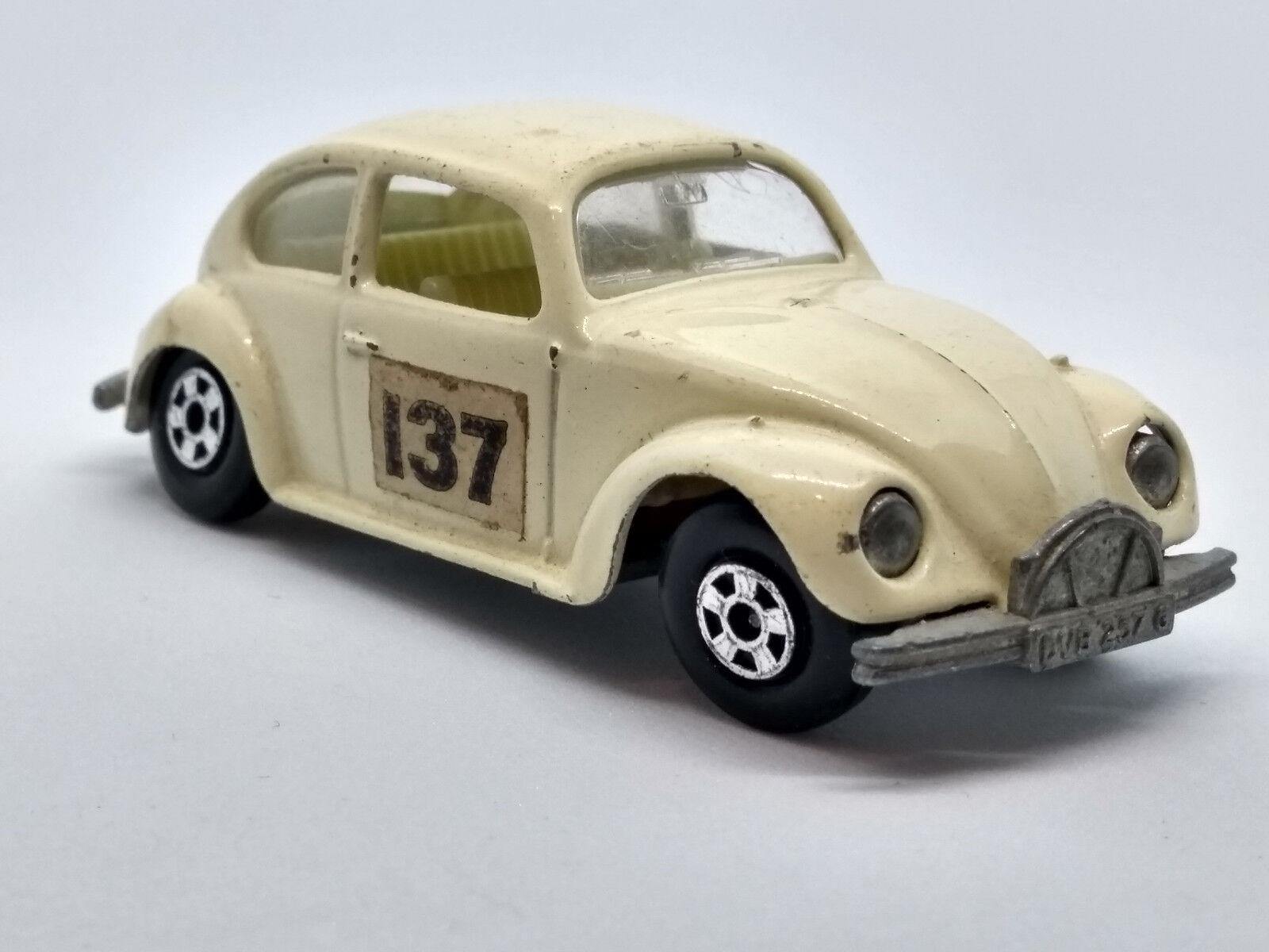 Matchbox, Vintage 1968, Series 15 Volkswagen Beetle 1500 Saloon, Diecast Toy Car