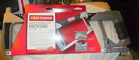Sears Craftsman 12 Inch In. Hack Saw,heavy Duty,convertible,storage Blades