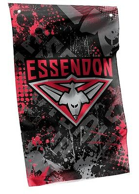 Licensed AFL ESSENDON BOMBERS Cape Wall Flag Banner Man Cave Pool cue Room