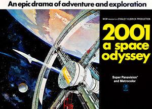 2001-A-Space-Odyssey-1968-Quad-75cm-x-54cm-Vintage-Movie-Poster-Art-Paper-Print