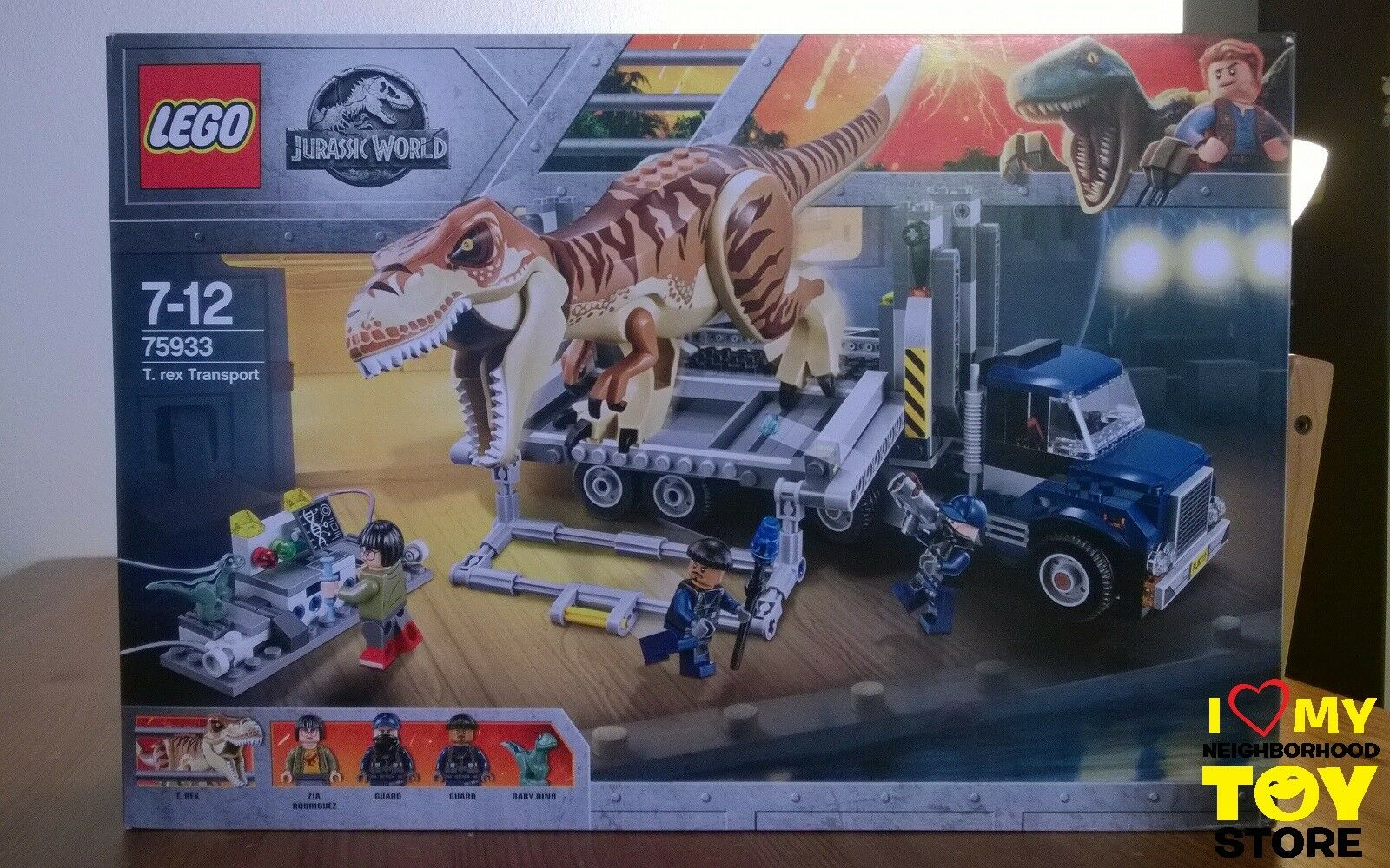 IN STOCK - LEGO 75933 JURASSIC WORLD™ T. REX TRANSPORT (2018) - MISB