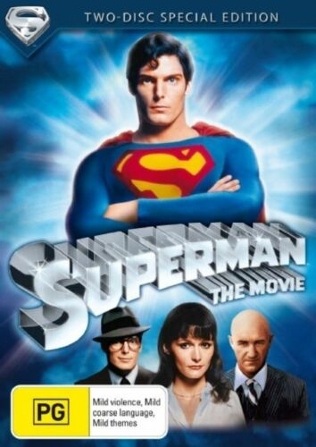 1 of 1 - Superman - The Movie (DVD, 2006, 2-Disc Set) NEW & SEALED - AUS STOCK - FREE P&H