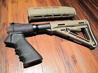 Mesa Tactical & Magpul Kit Remington 870 Tan Pistol Grip 6 Position Stock Grip