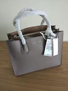 c1f253052afa Image is loading Michael-Kors-100-Mercer-Large-Leather-Tote-price-