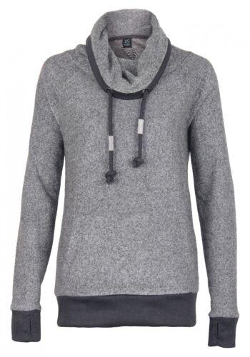 Sublevel Damen Sweatshirt mit Rollkragen Sweat Pullove