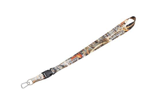 Max-4 Lanyard Strap and Keychain Combo With Custom Carabiner Hunting Camoflage