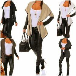 Damen Pullover Strickjacke Cardigan Pulli Longshirt Strick Jacke Bolero S,M,L