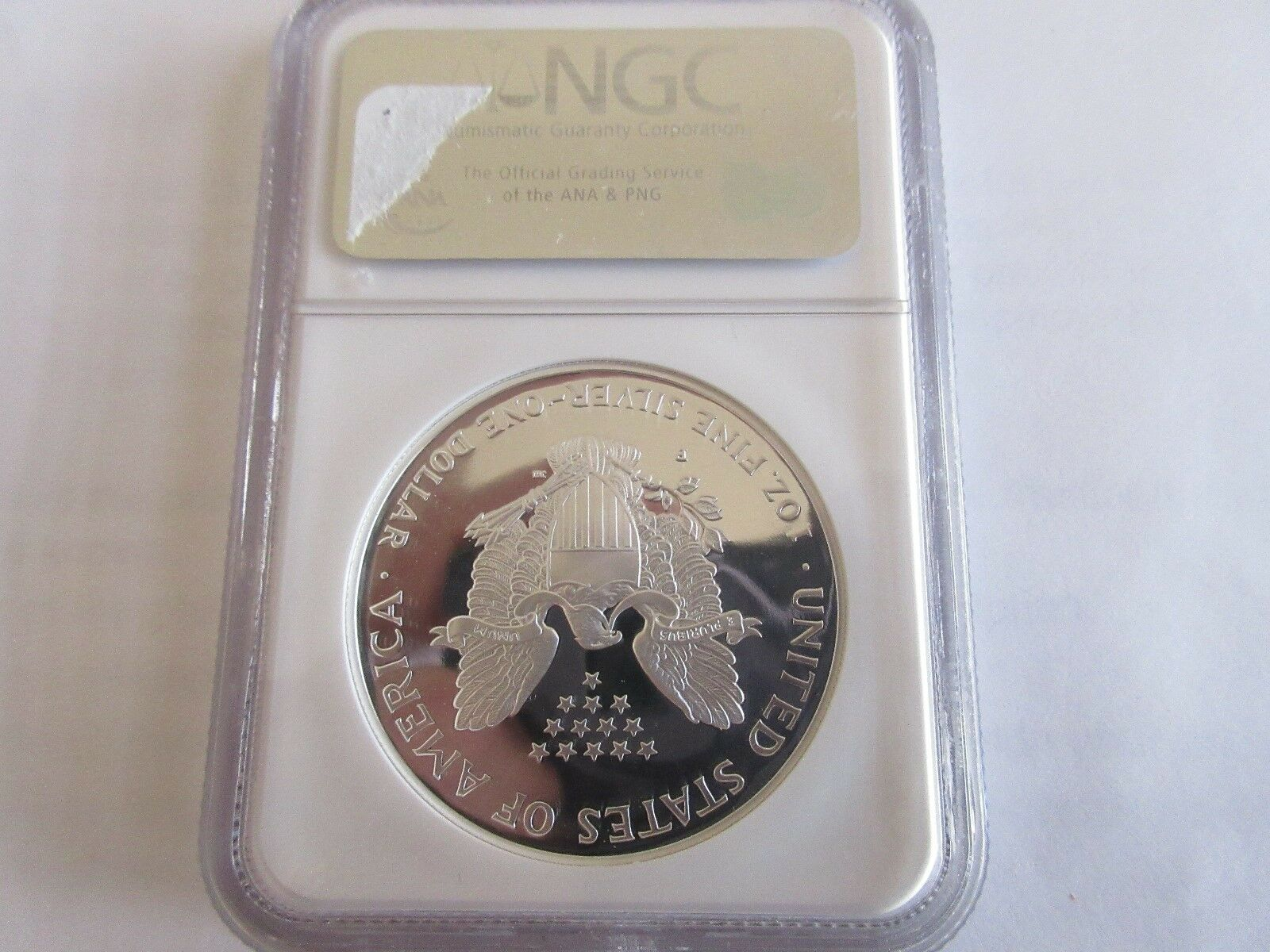 1998 P Silver Eagle S$1 NGC PF 70 Ultra Cameo