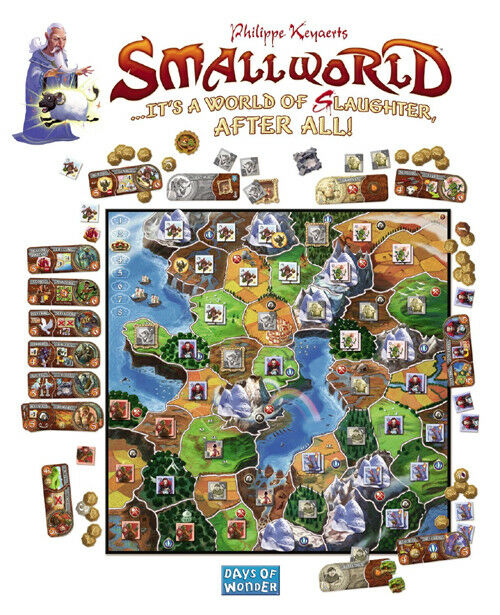Small World Boardgame - (New) (New) (New) 7877b6