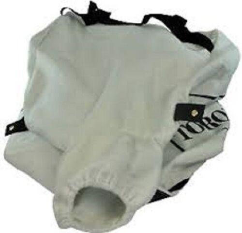 GENUINE OEM TORO PART # 105-1245 VACUUM BAG; REPLACES 20-6090 71-3540 26-7300