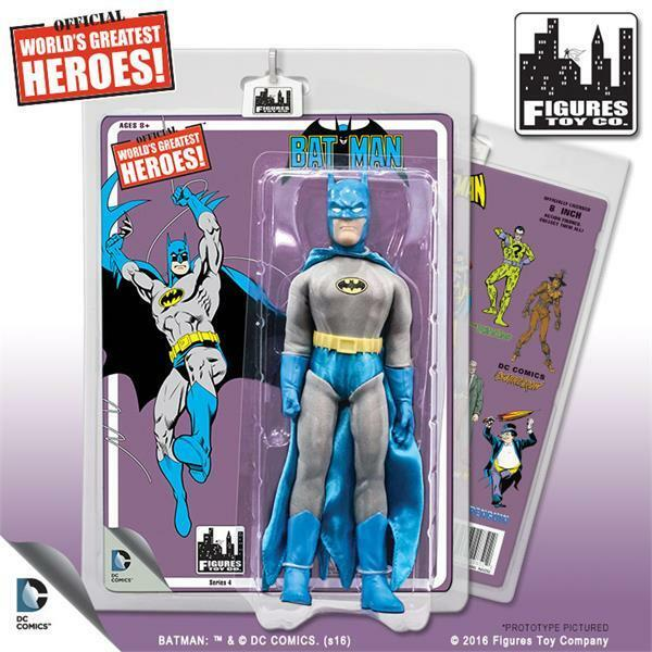 Dc comics batman retro - 8  action - figur comic serie batman neue wichtigste