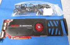 AMD FirePro 3D Graphics V5800 1GB  DVI Graphics Card 7120084100G / 6RN0Y w/Cable