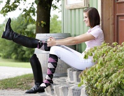 ELICO CARROT LADIES HORSE RIDING LONG SOCKS ODD SOCKS