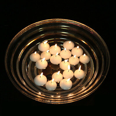 1.5 INCH ROUND FLOATING CANDLE DISC FLOATER wedding party events 100pcs WHITE