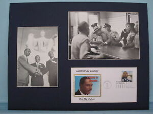 Martin Luther King - I Have a Dream & the Sit Down Protests + First day Cover