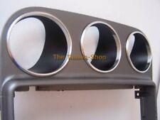 Per ALFA 156 97-02 Anelli in alluminio cromato circonda per ausiliario DASH sagome