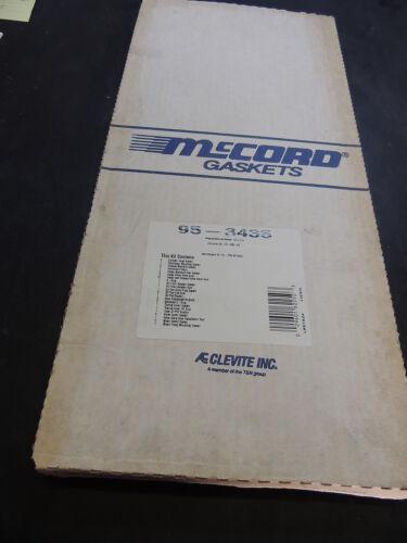 McCord Clevite 95-3061//95-3435 Gasket Full Set For GM 173 CID 2.8L V6 Cyl Engine