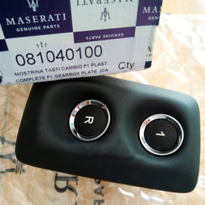 Maserati Granturismo Grancabrio F1 Gearbox Getriebe Schalter Switch 81040100