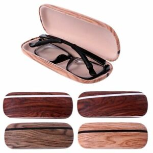 Elegant-Eye-Glasses-Case-Box-Hard-Wood-Grain-Sunglasses-Eyeglass-Protector-Bag