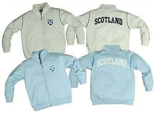 7-13 NEW KIDS SCOTLAND FULL ZIP TOP AGES