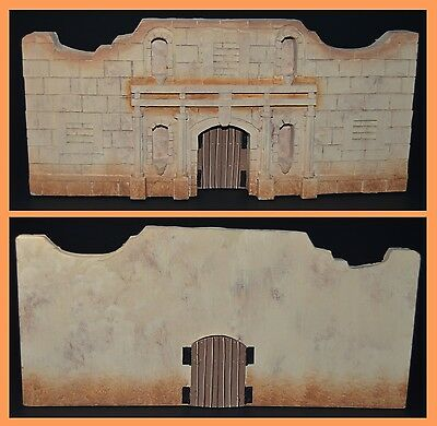 "King & Country Remember the Alamo Papier Mache ""Alamo Mission Facade"""