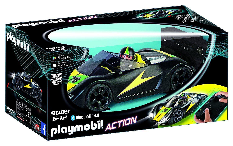 Playmobil Action 9089. Coche Racer Deportivo. Radio Control. Con mando.6-12 años