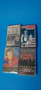 Lot-of-4-Classic-Country-Cassette-Tapes