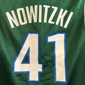 be9e7a0c4 Image is loading Dallas-Mavericks-41-Dirk-Nowitzki-Basketball-Jersey-Youth-