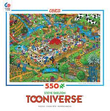 CEACO TOONIVERSE PUZZLE FARM TO TABLE STEVE SKELTON 550 PCS #2357-21