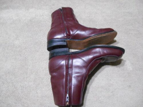 pour taille O'sullivan marron à 9d à cuir Bottes homme latérale élégantes glissière en fermeture hrdtsQ