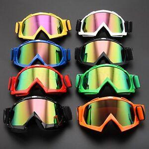 Motocross-Off-Road-Dirt-Bike-ATV-Racing-Goggles-Motorcycle-Glasses-Colorful-Lens