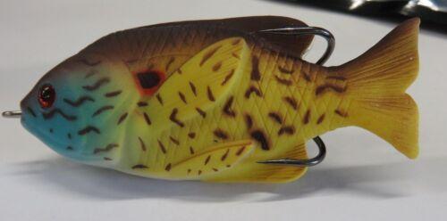 """1 New 3-1//2/"""" Sunfish Topwater Fishing Lure  *S5*"""