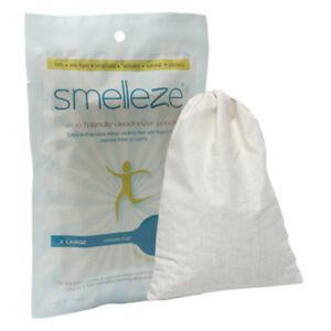 SMELLEZE Reusable Bathroom Smell Remover Pouch: Rid ...