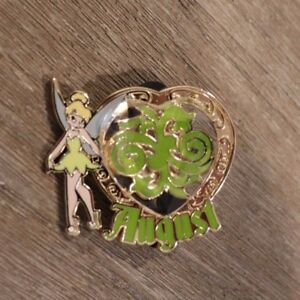 AUGUST-Disney-Pin-94111-Tinkerbell-039-s-Trinkets-Birthstone-Collection-2013