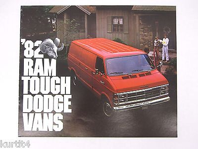 1987 Dodge Ram Van Wagon Original Sales Brochure Catalog B150 B250 ...