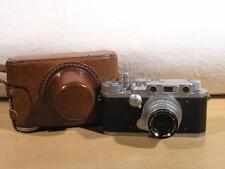 Kardon USA Signal Corps 35mm Film Rangefinder Camera w/47mm F2 Kodak Ektar Lens