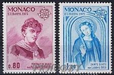 Monaco 1975 Mi 1167-68 ** Europa Cept St Devote Religion Painting Gemälde Art