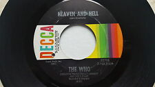 THE WHO - Summertime Blues / Heaven And Hell 1970 HARD ROCK Pete Townshend