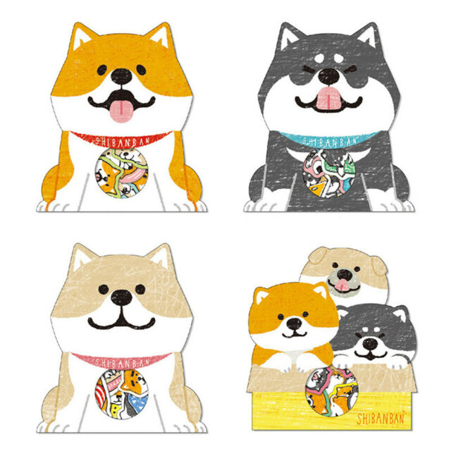 30x/Pack Cartoon Dog Animal Label Stickers DIY Diary Stationery Sticker Decor LY