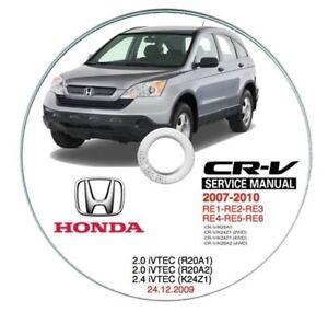 honda cr v my 2007 u003e workshop manual workshop manual ebay rh ebay ie 2007 Honda CR-V Service Intervals Honda CR-V