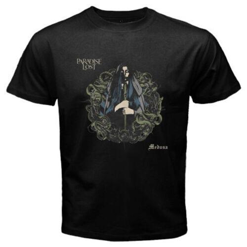 Paradise Lost *Medusa Metal Rock Band Men/'s Black T-Shirt Size S M L XL 2XL 3XL