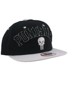 New Era Punisher 9fifty Snapback Hat Adjustable Marvel Comics Heroes ... b1720df20b7