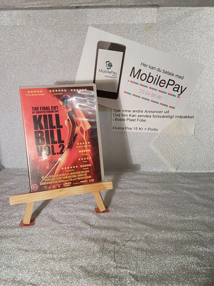 Kill bill vol 2, DVD, familiefilm