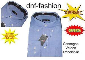 Camicia-classica-uomo-Y-7-Manica-lunga-collo-Button-down-9-90-Art-132